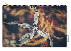 Carry-all Pouch featuring the photograph Dried Sage by Anna Louise