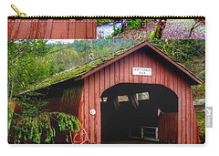 Drift Creek Covered Bridge Carry-all Pouch