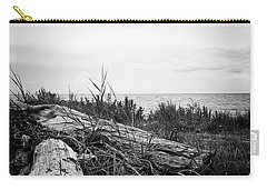 Carry-all Pouch featuring the photograph Drift Wood by Karen Stahlros