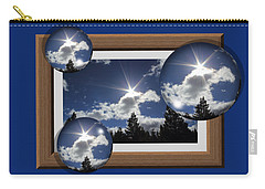 Carry-all Pouch featuring the photograph Drifting Away by Shane Bechler