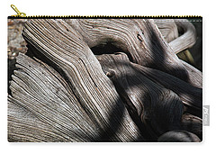 Driftwood Abstract Carry-all Pouch by Kenneth Albin