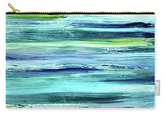 Driftwood Blue Carry-all Pouch