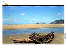 Driftwood Garden Carry-all Pouch by Will Borden