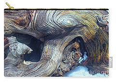 Driftwood Swirls Carry-all Pouch by Todd Breitling