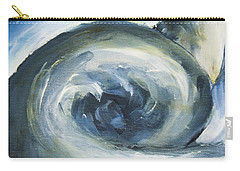 Carry-all Pouch featuring the painting Driftwood by Yulia Kazansky