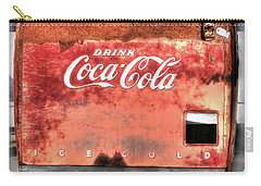 Drink Ice Cold Coca Cola Carry-all Pouch