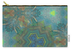 Drinking The Nectar Of Life Carry-all Pouch by Maria Watt
