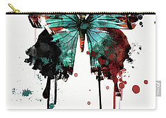 Dripping Butterfly Carry-all Pouch
