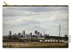 St Louis Skyline Carry-all Pouch