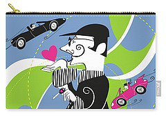 Driven To Love Carry-all Pouch