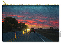 Driving Dusk Carry-all Pouch