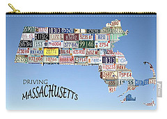 Driving Massachusetts Carry-all Pouch