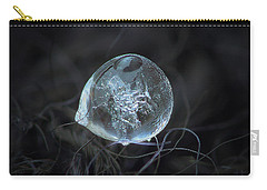 Drop Of Ice Rain Carry-all Pouch