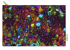 Droplet Abstract Carry-all Pouch by Stuart Turnbull