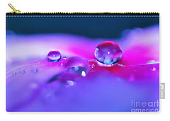 Droplets In Fantasyland Carry-all Pouch by Kaye Menner