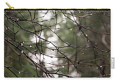 Droplets On Branches Carry-all Pouch