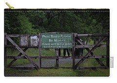 Carry-all Pouch featuring the photograph Drove Road To Glen Coe by RKAB Works