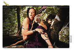 Druid In The Wood Carry-all Pouch