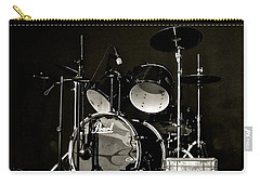 Drums And Crate Carry-all Pouch