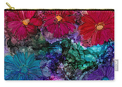 Drunken Flowers Carry-all Pouch