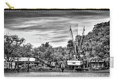 Dry Dock - St. Helena Shrimp Boat Carry-all Pouch by Scott Hansen