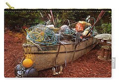 Carry-all Pouch featuring the photograph Dry Dock Art by Thom Zehrfeld