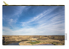 Dry Fall, Washington Carry-all Pouch by Jingjits Photography