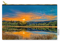 Dry Lagoon Spring Morning Carry-all Pouch