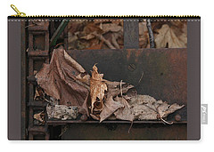 Dry Leaves And Old Steel-i Carry-all Pouch