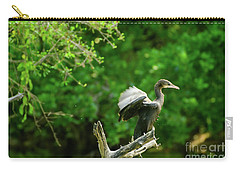 Drying Indian Cormorant Carry-all Pouch
