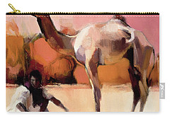 dsu and Said - Rann of Kutch  Carry-all Pouch by Mark Adlington