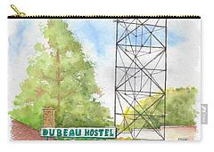 Du Beau Motel, Flagstaff, Arizona Carry-all Pouch