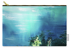 Carry-all Pouch featuring the painting Duality by Anil Nene