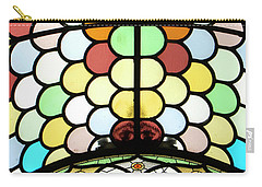 Dublin Art Deco Stained Glass Carry-all Pouch