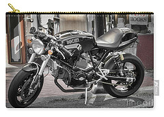 Carry-all Pouch featuring the photograph Ducati Sport 1000 by Mitch Shindelbower