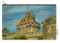 Carry-all Pouch featuring the photograph Duchesse Anne's Castle by Elf Evans