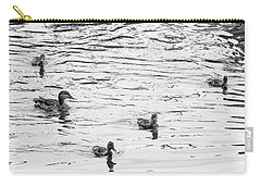 Duck And Ducklings Carry-all Pouch