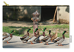 Duck And Hydrant Carry-all Pouch