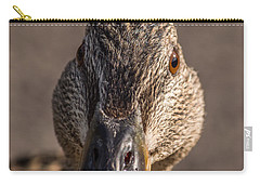 Duck Headshot Carry-all Pouch