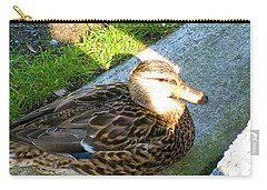 Duck Melanie Tweed In  The Sun Carry-all Pouch