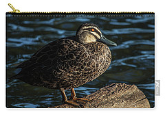 Duck On A Log Carry-all Pouch