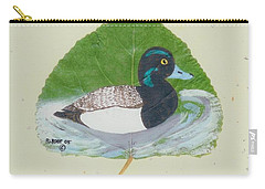 Duck On Pond #2 Carry-all Pouch
