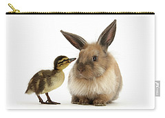 Duck Out Bunny Carry-all Pouch
