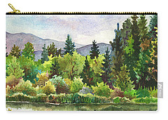 Duck Pond At Caribou Ranch Carry-all Pouch