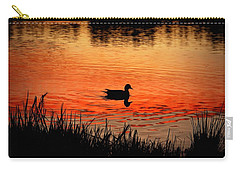 Duck Silhouette Carry-all Pouch