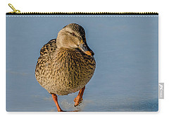 Duck Walk On Ice Carry-all Pouch