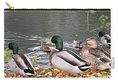 Ducks By The Pond Carry-all Pouch