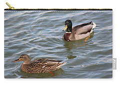Ducks By The River Carry-all Pouch