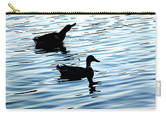 Ducks In The Evening Carry-all Pouch