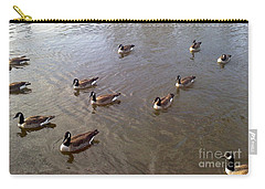 Ducks On The Occoquan River Carry-all Pouch